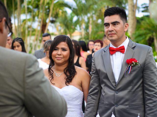 El matrimonio de Stephany y Diego