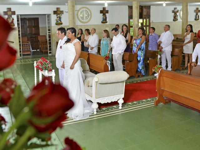 El matrimonio de Frank y Carolina en Cartagena, Bolívar 1
