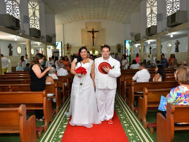 El matrimonio de Frank y Carolina en Cartagena, Bolívar 4