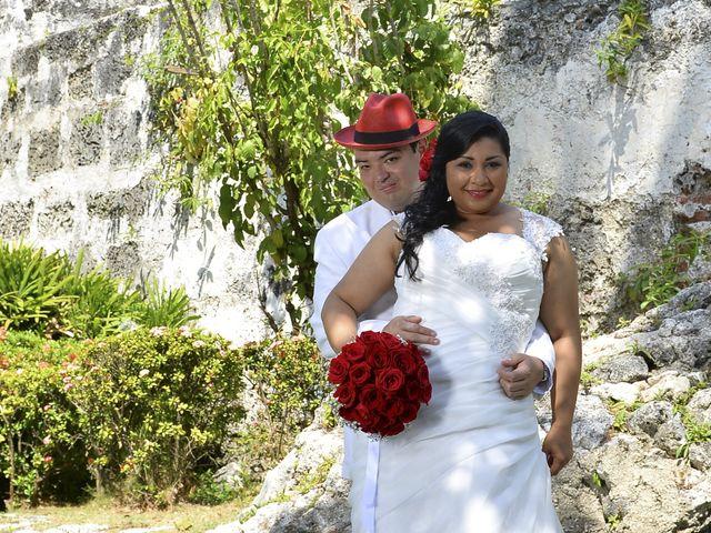El matrimonio de Frank y Carolina en Cartagena, Bolívar 6