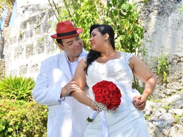 El matrimonio de Frank y Carolina en Cartagena, Bolívar 7