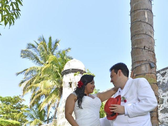 El matrimonio de Frank y Carolina en Cartagena, Bolívar 9