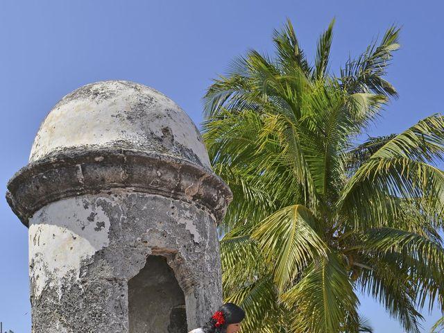 El matrimonio de Frank y Carolina en Cartagena, Bolívar 12