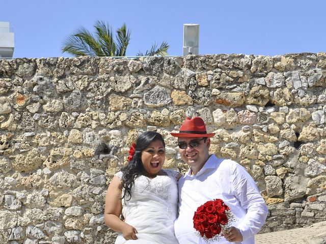 El matrimonio de Frank y Carolina en Cartagena, Bolívar 13