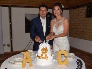 El matrimonio de Angie y Cristhian