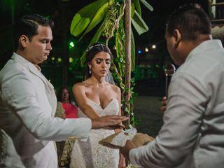 El matrimonio de Claudia y Sergio