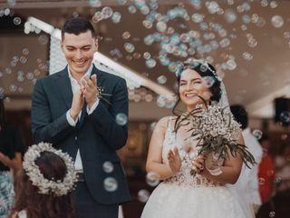 El matrimonio de Briggite y Andrés