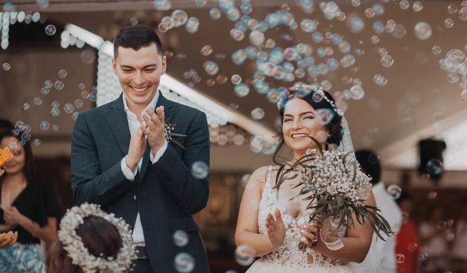 El matrimonio de Andrés  y Briggite en Bucaramanga, Santander