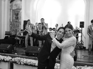 El matrimonio de Soraya y Benjamín
