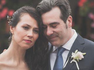 El matrimonio de Viviana y Geoff