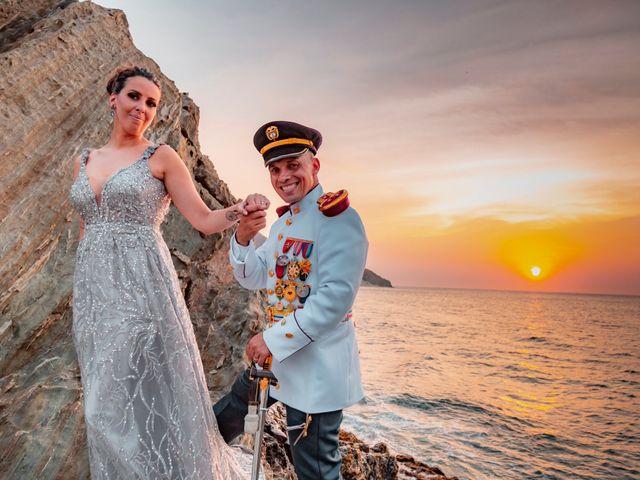 El matrimonio de Laure y Diago