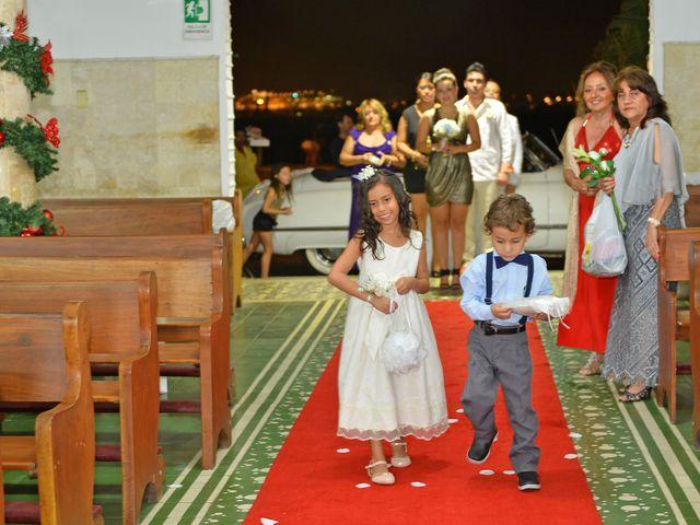 El matrimonio de Andres y Natalya en Cartagena, Bolívar 7