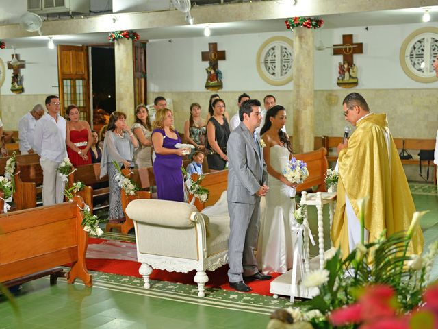 El matrimonio de Andres y Natalya en Cartagena, Bolívar 9