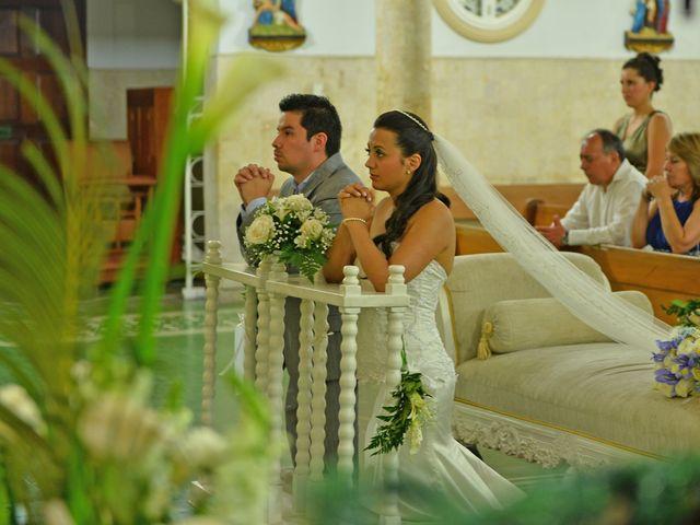 El matrimonio de Natalya y Andres