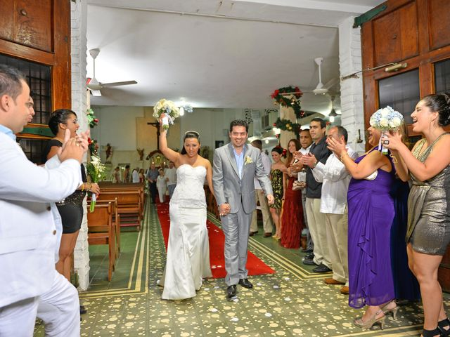 El matrimonio de Andres y Natalya en Cartagena, Bolívar 13
