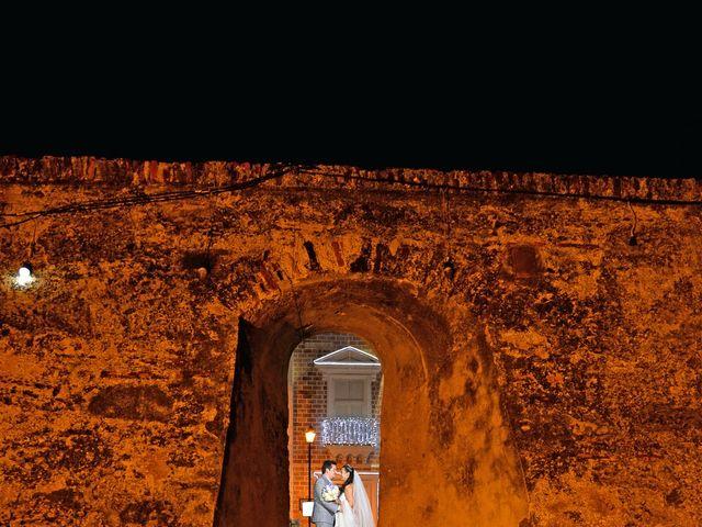 El matrimonio de Andres y Natalya en Cartagena, Bolívar 15