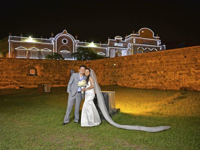 El matrimonio de Andres y Natalya en Cartagena, Bolívar 17