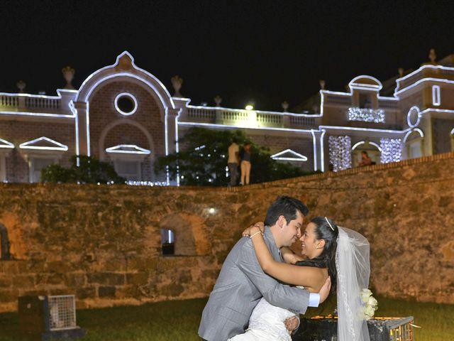 El matrimonio de Andres y Natalya en Cartagena, Bolívar 18