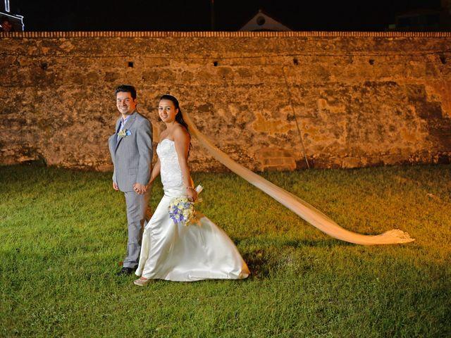 El matrimonio de Andres y Natalya en Cartagena, Bolívar 19