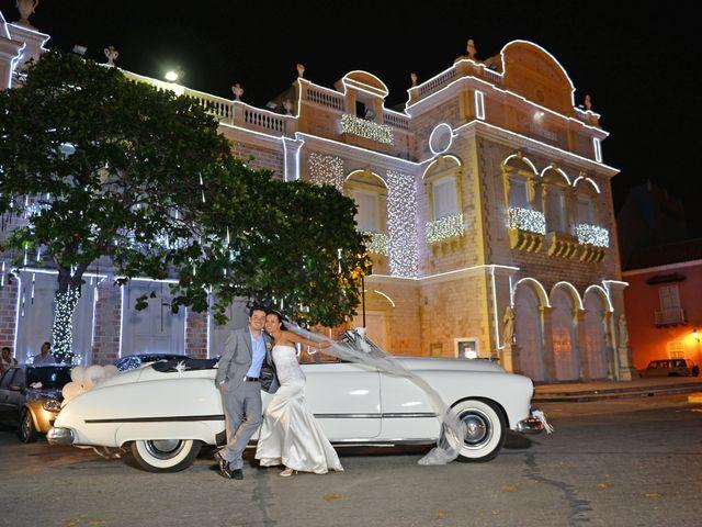 El matrimonio de Andres y Natalya en Cartagena, Bolívar 20