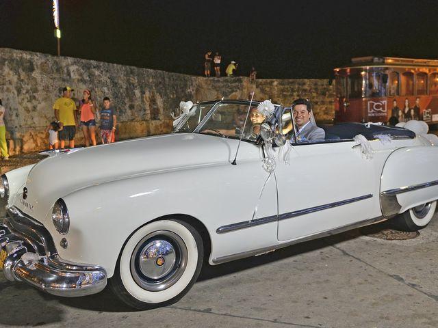 El matrimonio de Andres y Natalya en Cartagena, Bolívar 21