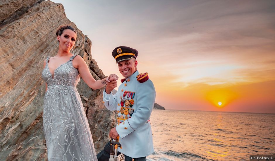El matrimonio de Diago y Laure en Santa Marta, Magdalena