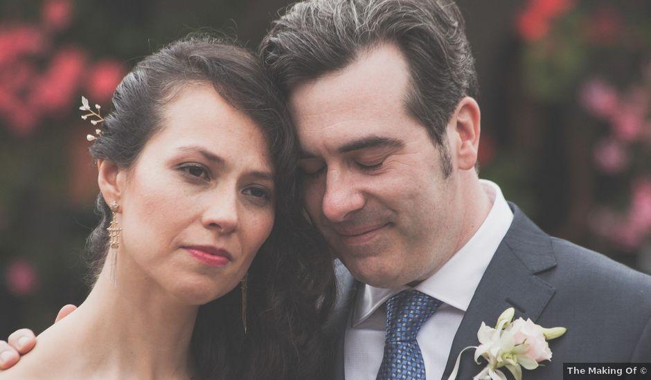 El matrimonio de Geoff y Viviana en Cajicá, Cundinamarca