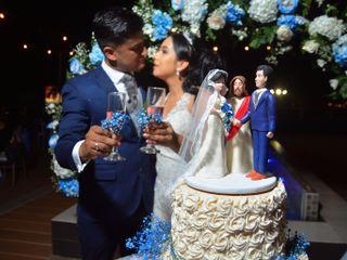El matrimonio de Eliana  y John Edwar