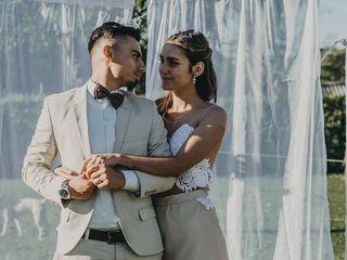El matrimonio de Viviana y Andrés