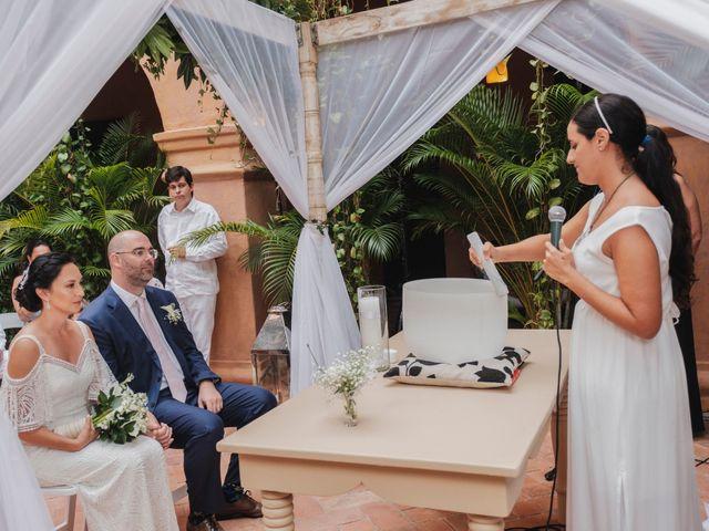 El matrimonio de Andrew y Gloria en Cartagena, Bolívar 21