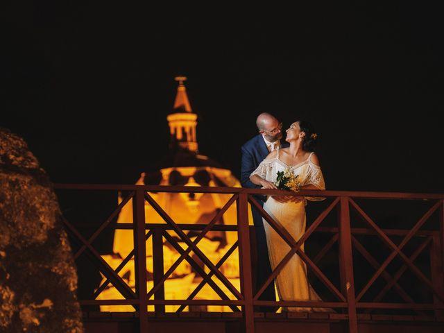 El matrimonio de Andrew y Gloria en Cartagena, Bolívar 31
