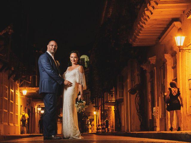 El matrimonio de Andrew y Gloria en Cartagena, Bolívar 32