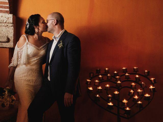 El matrimonio de Andrew y Gloria en Cartagena, Bolívar 45