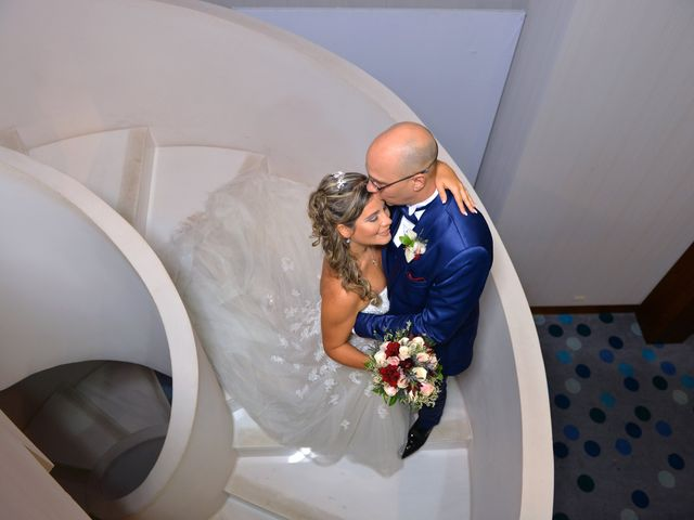 El matrimonio de Vanessa y Mathew