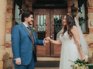 El matrimonio de Adriana  y Jorge