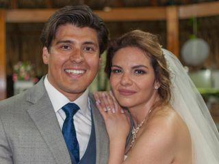 El matrimonio de Angie y Ariel
