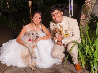 El matrimonio de Karen  y Luis