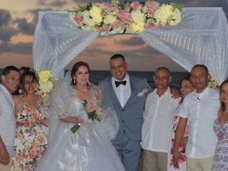 El matrimonio de Bibiana y Eduardo