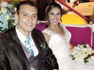 El matrimonio de Erika y Sebastian