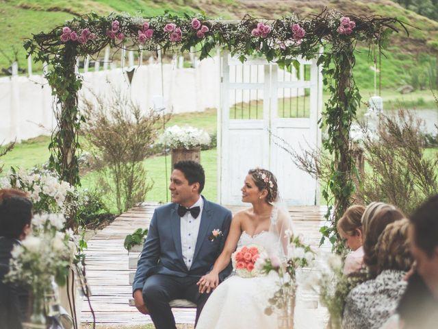El matrimonio de Javier y Ana en La Calera, Cundinamarca 136