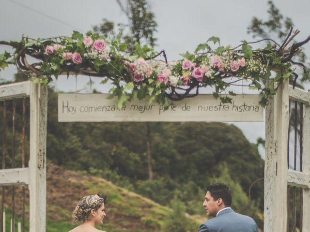 El matrimonio de Javier y Ana en La Calera, Cundinamarca 196
