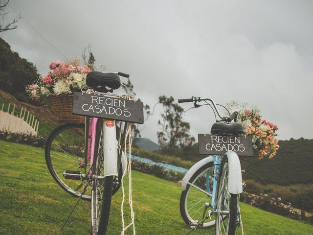 El matrimonio de Javier y Ana en La Calera, Cundinamarca 200