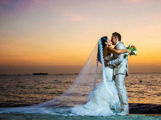 El matrimonio de Andrea y Daniel 1