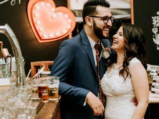 El matrimonio de Stefy y David