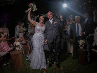 El matrimonio de Patricia y Mark