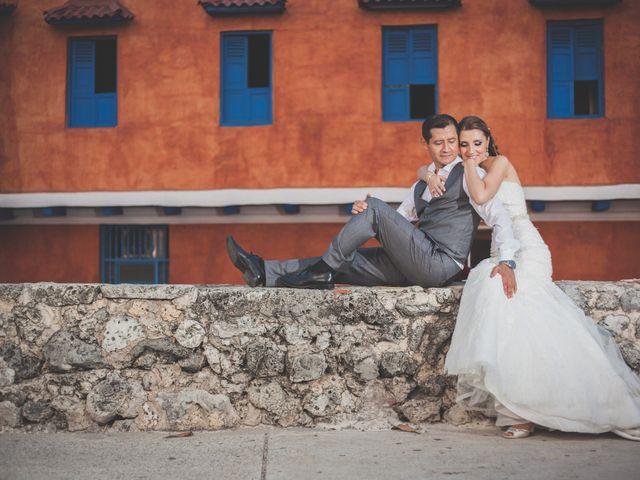 El matrimonio de Maryna y Oscar