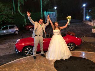 El matrimonio de Wendy  y Oscar