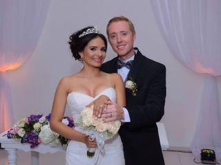 El matrimonio de Luz María y James