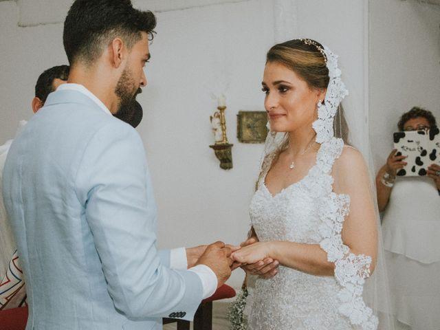 El matrimonio de Andres y Ana en Cartagena, Bolívar 140