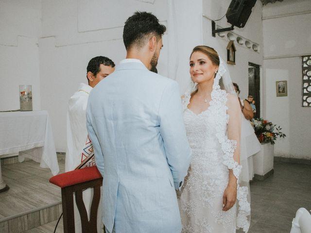 El matrimonio de Andres y Ana en Cartagena, Bolívar 148